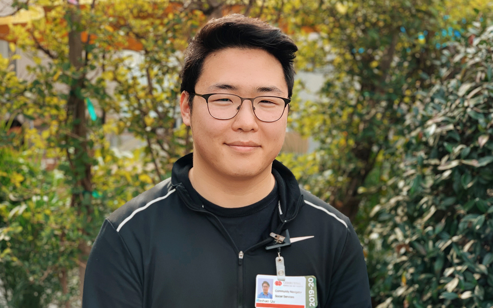 Weihao Qu, Cedars-Sinai, Patient Navigator, Homeless Resources, Marina Del Rey