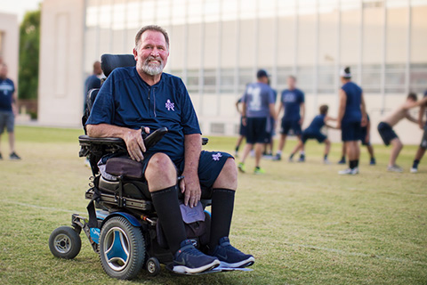 Lance mccullah wheelchair